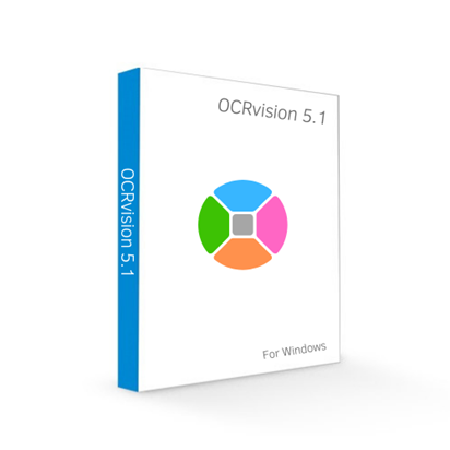 Picture of OCRvision - Download OCR Software For Windows